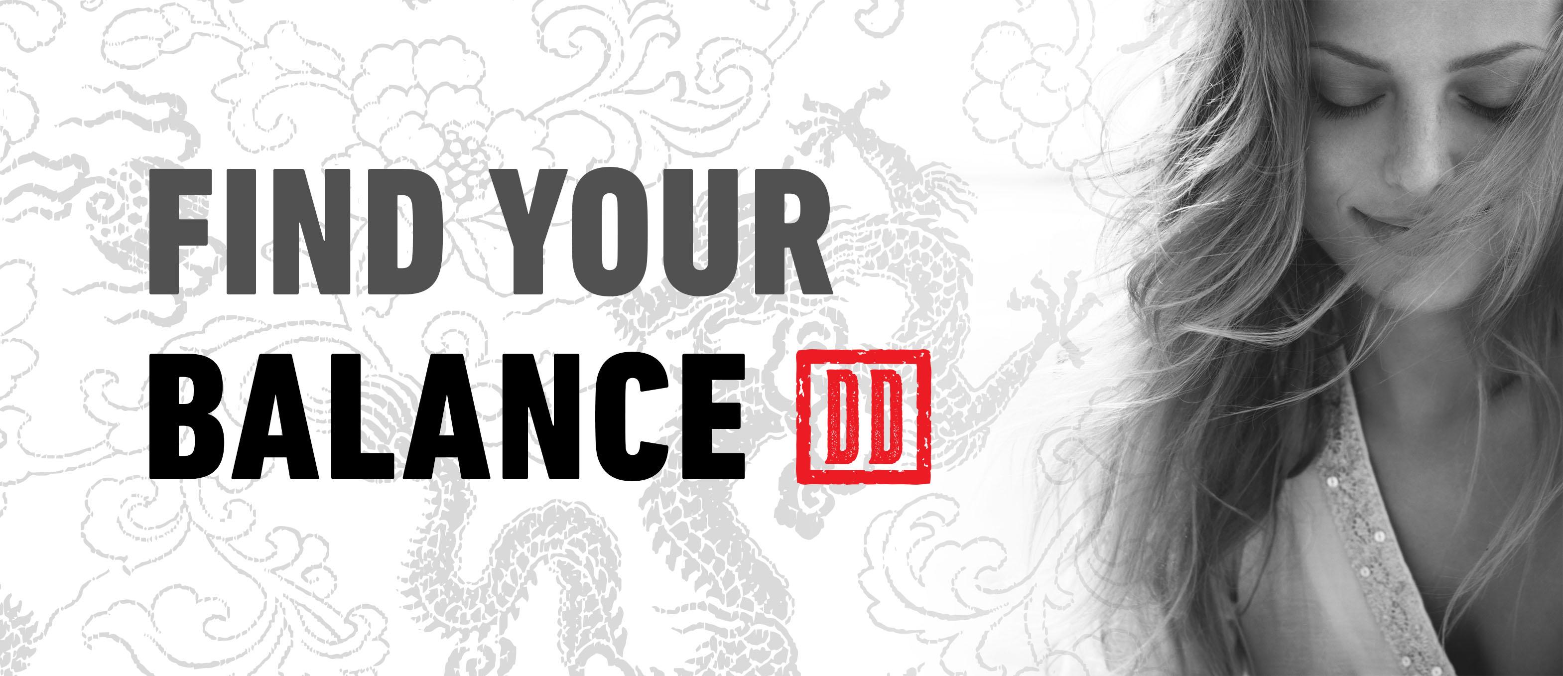 Find your balance – DD